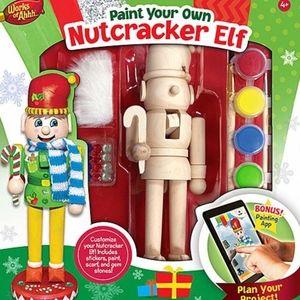 ✨✨✨Paint Your Own Nutcracker Elf Set✨✨✨